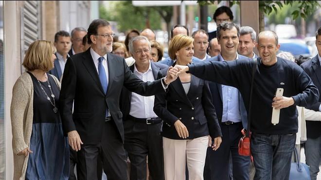 Rajoy adverteix que votar C's és tirar el vot per beneficiar Podem