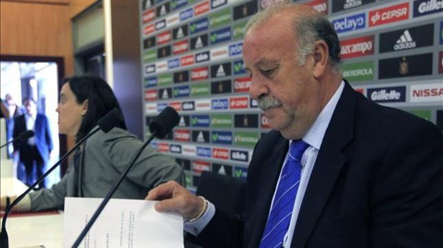 """Vicente del Bosque: """"No hace falta decir al equipo que no estamos de vacaciones"""""""