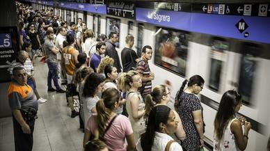 El metro de Barcelona bat el seu rècord històric de viatgers