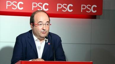 """Iceta veu """"inevitable"""" el 155 davant l'""""amenaça"""" de Puigdemont"""