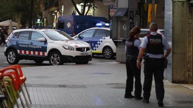Segon dia de blindatge policial per l'alarma antiterrorista d'Europa