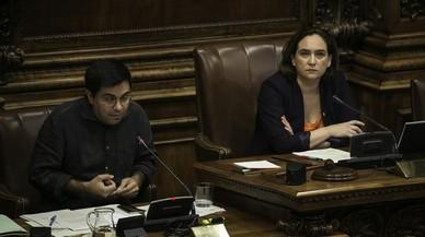 Colau insta Rajoy i Puigdemont a descartar el 155 i la DUI