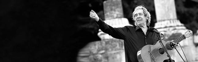 Paco Ibáñez, el pasado martes, en el Festival Les Suds d'Arles (Francia).