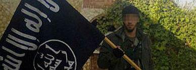 El joven catal�n que ahora lucha en Siria.