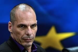 Yanis Varoufakis, durante una rueda de prensa, el pasado marzo.
