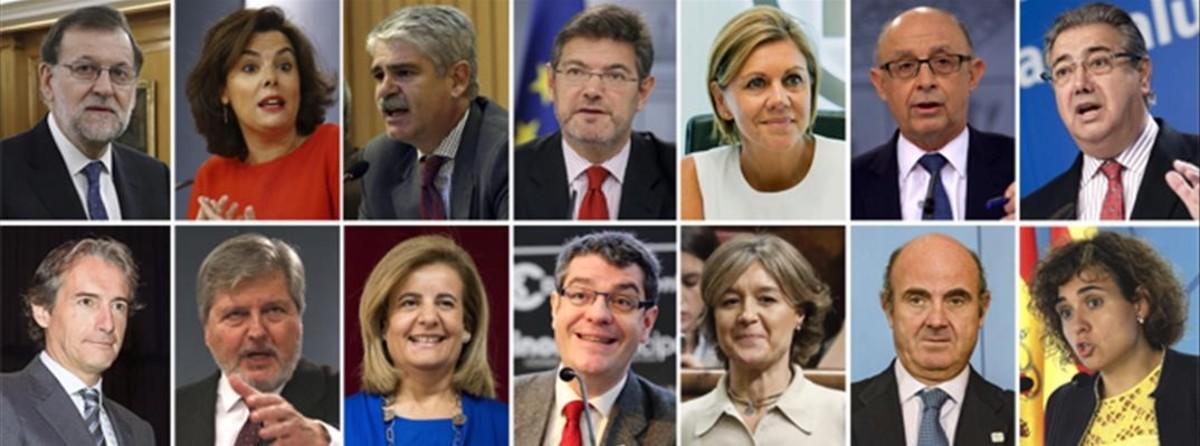 Los ministros del nuevo gobierno de rajoy for Ministros del gobierno