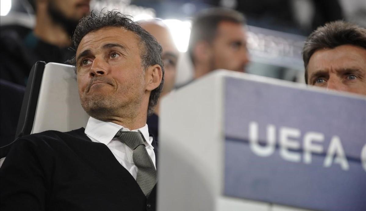 La gran enrabiada de Luis Enrique després del segon gol