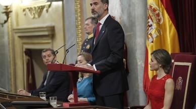 """Felip VI, sobre l'atemptat de Barcelona: """"Són uns assassins"""""""
