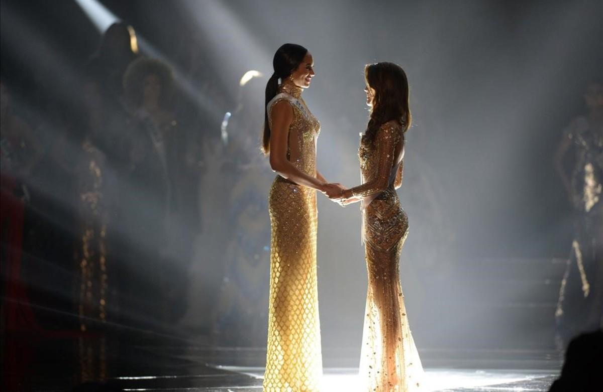 Ceremonia de coronación de Miss Universoen el Asia Arena en Pasay, Filipinas.