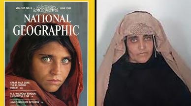 Detinguda per portar documents falsos la dona afganesa famosa en la seva joventut per una foto