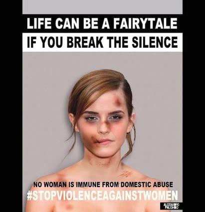 Famosas maltratadas, la nueva campaña viral contra la violencia machista
