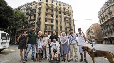 Vecinos de al menos 38 edificios de Barcelona sufren 'mobbing' inmobiliario