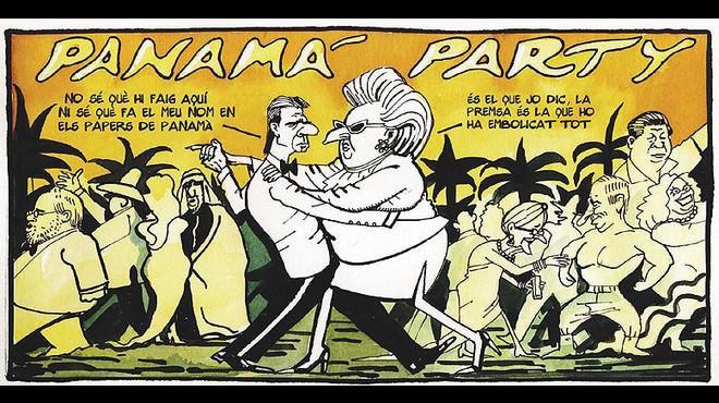 La 'legislatura interrupta', segons les vinyetes de Ferreres