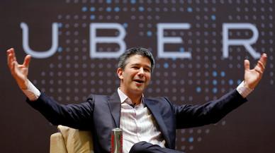 El fundador i director general d'Uber dimiteix pressionat pels accionistes