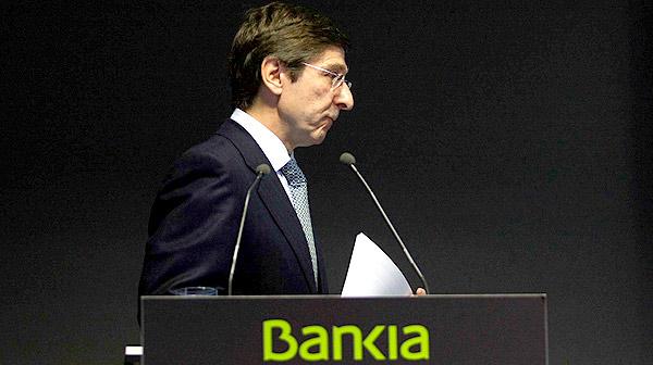 Goirigolzarri exculpa Rato de mala gestió a Bankia
