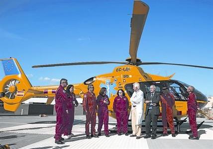 helicóptero rescate niños enfermos hospital sant pau cumple