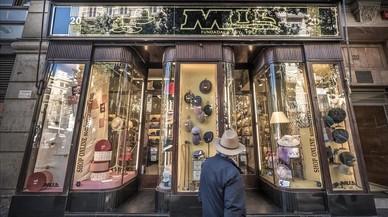 Mil, la barreteria d'Ava Gardner, compleix cent anys al carrer de Fontanella