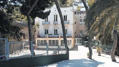 Instalaciones de la escuela de educación especial Taiga de Barcelona.