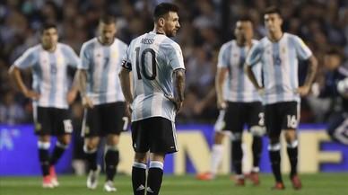 L'Argentina s'allunya del Mundial tot i els esforços de Messi