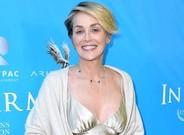 Sharon Stone en Beverly Hills el pasado agosto.
