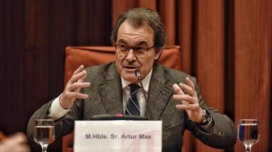 Artur Mas compareix al Parlament pels casos de corrupció a CDC, en directe