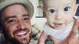 Justin Timberlake presumeix de bebè