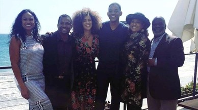 Will Smith y el resto de los actores de 'El príncipe de Bel-Air'.
