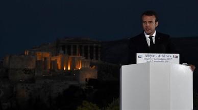 Macron aboga por construir una verdadera soberanía europea