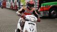 Marc M�rquez logra la segunda fila en Assen 'robando' un scooter