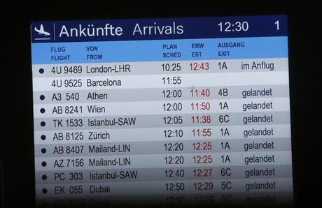 Rescate en directo del avión estrellado en los Alpes