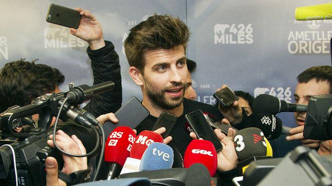 """Piqué: """"En el palco del Madrid se mueven los hilos de este país"""""""