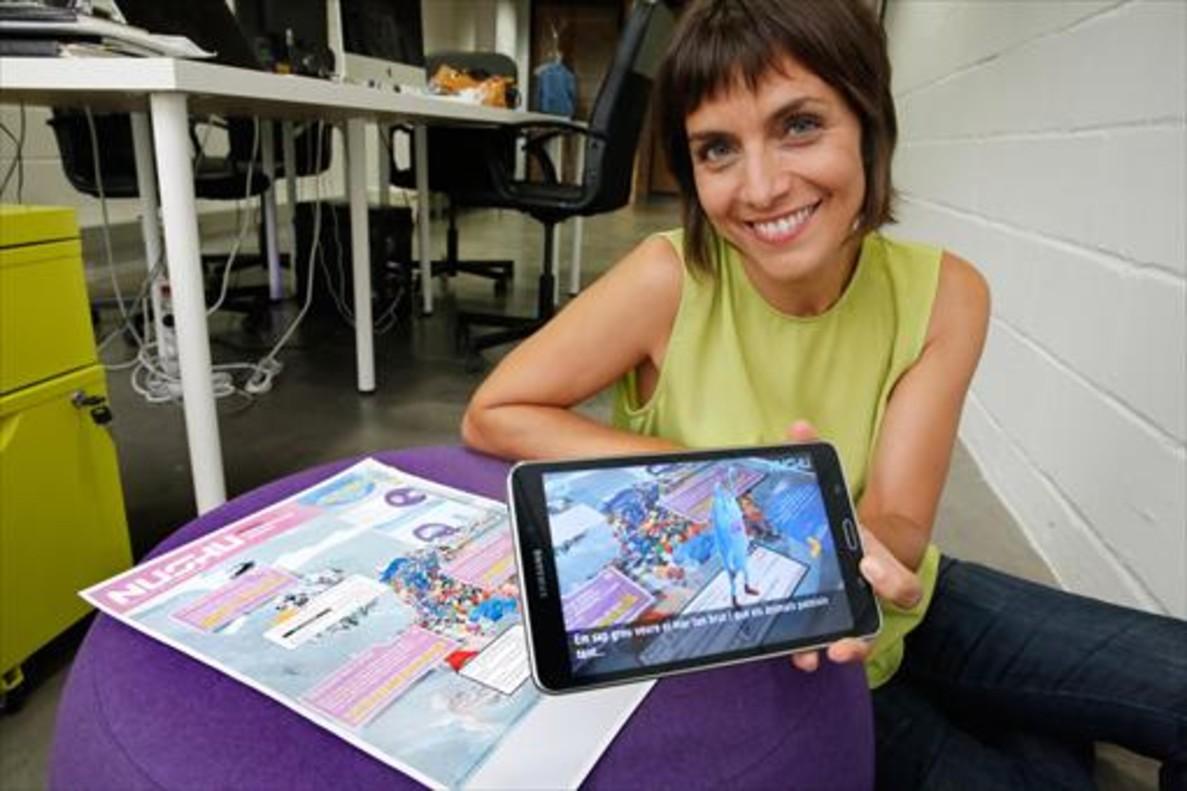 Eva Domínguez: «Pokémon demuestra el gran potencial de lo virtual»