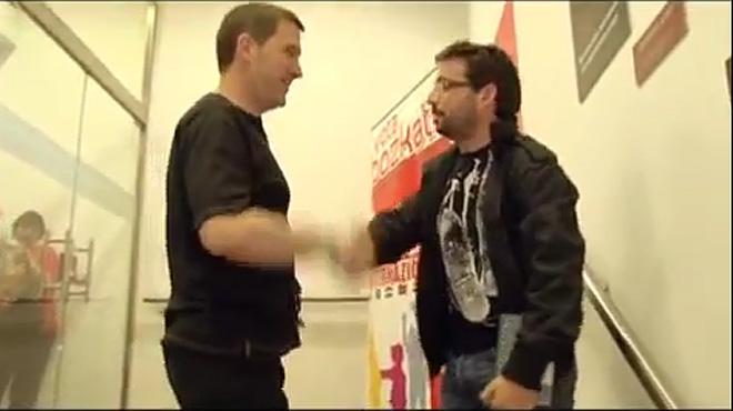 Així va ser la primera entrevista de Jordi Évole a Arnaldo Otegi el 2009