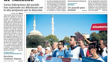 Puigdemont i el federalisme de Sánchez marquen el quiosc