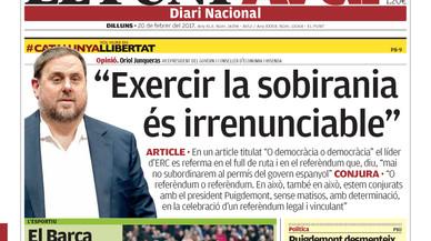 Dues versions per als contactes Govern català-Rajoy