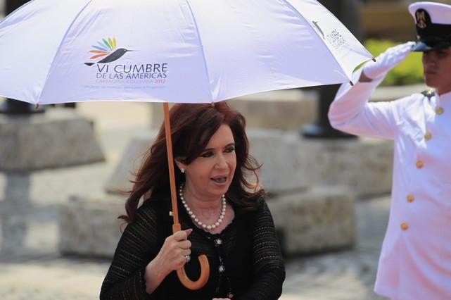 Kirchner abandona Cartagena antes de la clausura de la reunión