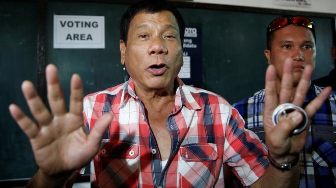 Les canallades verbals del nou president de Filipines