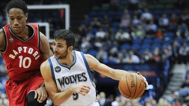 Los Timberwolves ganan con un buen Ricky Rubio