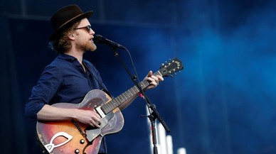 Wesley Schultz, l�der de The Lumineers.