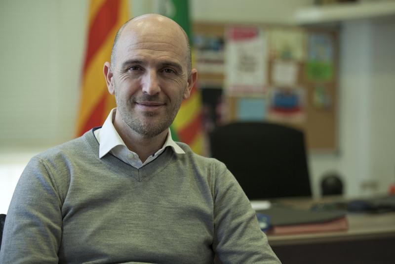 """Sergi Mingote: """"Hemos mejorado mucho, pero me preocupan los 1.069 paretenses que siguen en paro"""""""