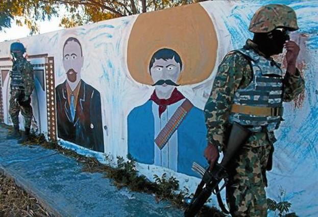 La revuelta pendiente for Emiliano zapata mural