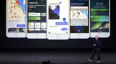 Tim Cook, CEO de Apple, en una presentación el pasado septiembre.
