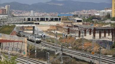 Barcelona inyecta otros 266.000 euros a las desérticas obras de la Sagrera