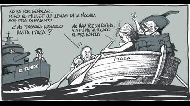 El 'caso Palau' en las viñetas de Ferreres