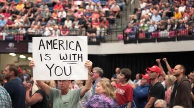 Trump continua arrasant a l'Amèrica profunda