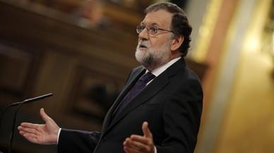 Rajoy s'escuda en l'1-O i el gihadisme en el debat de la 'Gürtel'