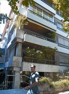 El edificio del conflicto Bloque de la calle del Doctor Carulla.