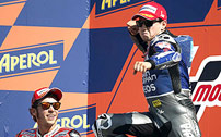 Triunfo de Lorenzo en el GP de San Marino