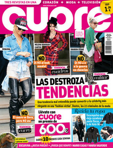 Portada del nmero 340, del 7 al 13 de noviembre de 'CUORE'.