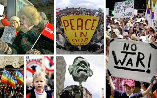 Nace la globalizaci�n pacifista